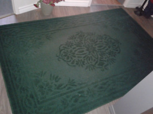 Tapis vert 62 × 85 pouces made in USA