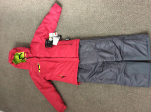 NWT Girls Alpinetek Snowsuit Size 7/8