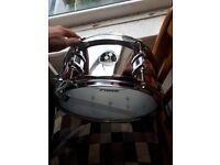 """Sonor Special Edition steel snare drum 12""""x5.75"""" NEW in box"""