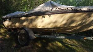 1984 edson 15' boat