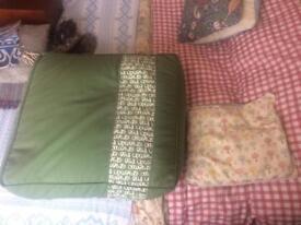 Xl bean filled cushion