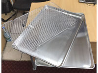 HENNY PENNY DİSPLAY TRAY SET: Display Tray,tray With Holes,metal Wire Rack