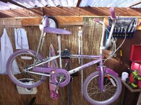 GIRLS GROOVY CHICK BIKE BANG ON THE DOOR