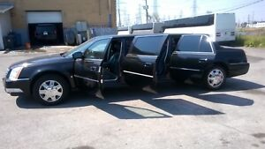 Reduced 2008 Cadillac DTS Stretch Limousine