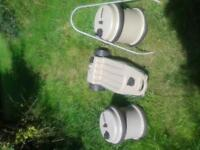 Caravan Water & Waste Containers Aquaroll