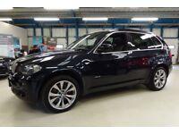 BMW X5 30SD M SPORT [PANO ROOF/ NAV/ XENONS/ 20''s] (carbon black metallic) 2008