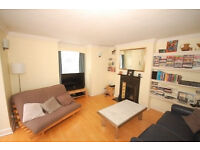 A fantastic first floor, two bed two bath apartment with parking and Southerly facing roof terrace.
