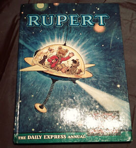 Rupert and the Magic Ball, 1966, Collector Book for Children