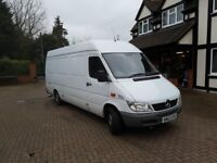 VAN & TOOLS Readymade Business Merc Sprinter LWB & tools
