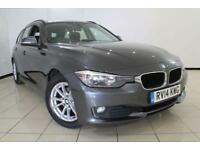 2014 14 BMW 3 SERIES 2.0 320D EFFICIENTDYNAMICS BUSINESS TOURING 5DR 161 BHP DIE