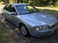 Volvo S80 2.4 2435cc Petrol Automatic 4 door Saloon 51 Plate 30/11/2001 Blue