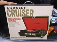 Crosley cruiser Brand new Un-opened record player!