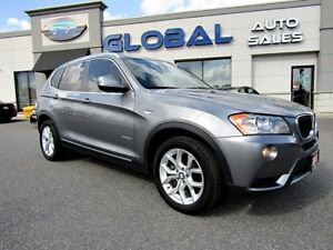 2013 BMW X3 xDrive28i NAVIGATION PANOR. ROOF
