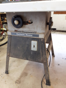 Rockwell / Beaver Table saw/ fence and router table.