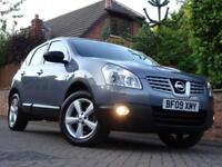 2009 09 Nissan Qashqai 1.6i Petrol TEKNA 2WD..TOP MODEL..HIGH SPEC..STUNNING !!