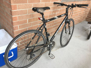 Moving sale- Black Road Bicycle.