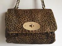 Original Mulberry Leopard Print Leather handbag
