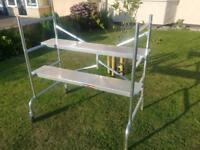 Aluminium scaffold/platform
