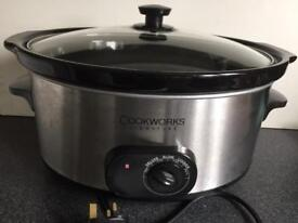 XL Family Size 6.5Litres Electric Slow Cooker