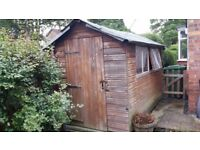 10 x 6 garden shed (used)