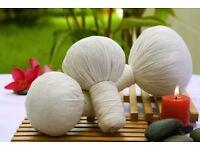 Herbal compress ball Massage