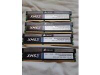 DDR3 4x4GB RAM Corsair XMS3