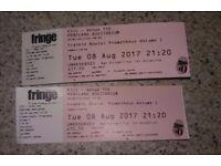 Frankie Boyle Tickets Edinburgh Tues 8th Aug
