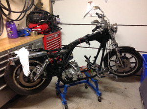 Harley rolling frame with clean title