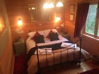 Owlet Hideaway. Luxury Countryside Lodge with Private Hot Tub, near York. 1 or 2 Bedrooms.