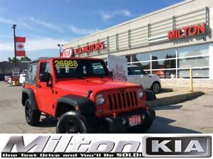 2016 Jeep Wrangler Sport | SOFT TOP | MANUAL