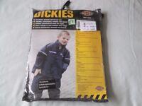 Dickies Children's Vermont Waterproof Suit - age 7/8 years