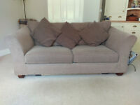 Marks + Spencer Abbey medium sofa bed, brown, excellent condition, £150