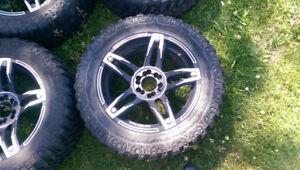 "Set of 20"" sunny eco sendero tires plus loose spare"