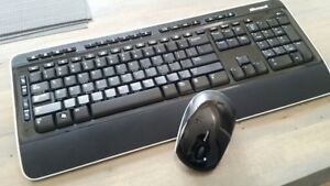 Microsoft Wireless Keyboard & Mouse