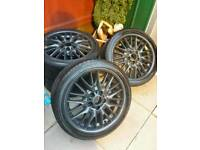 "Bmw 18"" alloys 1+3 series"