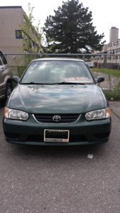 2001 corolla with remote starter fully loaded