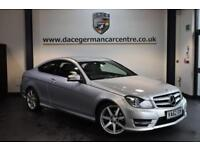 2013 62 MERCEDES-BENZ C CLASS 1.6 C180 BLUEEFFICIENCY AMG SPORT 2D AUTO 154 BHP