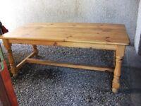 Solid Farmhouse Table