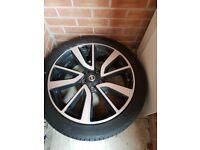 "Nissan qashqi 19"" alloy wheel"