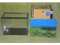 Aqua one 21L glass tank.
