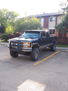 Lifted Chevy.... $2000