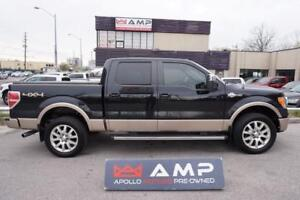 2012 Ford F-150 Lariat King Ranch Leather NAVI Camera New Tires.