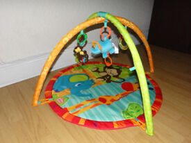 Lovely comfy playmat / play gym / activity mat