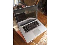 15' Apple MacBook Pro 2.66Ghz i7 Dual Core 8gb 500GB HDD Logic Pro X Cubase Ableton Reason