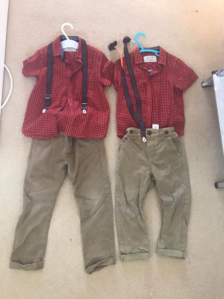 Next outfits4 52 3in Poole, DorsetGumtree - Shirt braces and chinos Pictures dont do justice of how these outfits look on From and smoke and pet free home Collection parkstone Selling as a pair but will sell