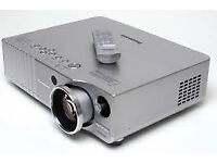 Panasonic PT-AE700E (HD 720p) Projector with ceiling mount