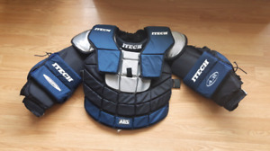 I tech goalie chest pad