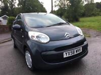 2008 58 PLATE CITROEN C1 RHYTHM WITH LOW MILEAGE MOT
