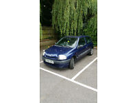 Renault Clio Grande, 1.2, 2000, Manual, Petrol, 3dr, Hatchback, Sunroof, Blue, 109k Miles