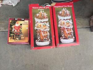 Huge assortment of Christmas decorations
